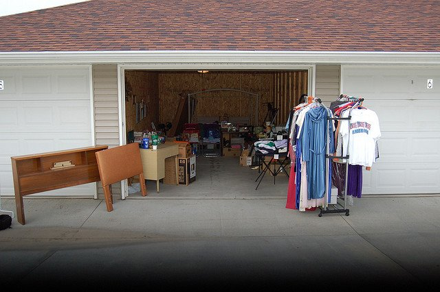 organizing a garage sale is an excellent way to declutter your home