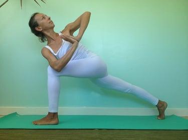 one empty basement idea is to create a yoga studio