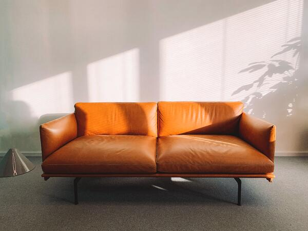 new-orange-couch