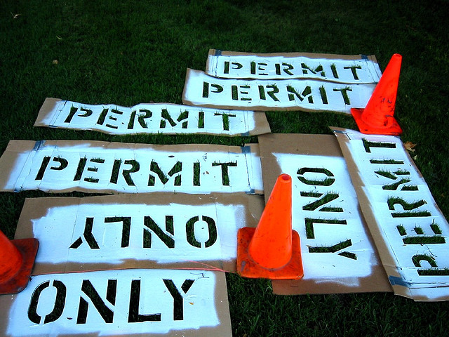 a permit is need if you are renting a dumpster and putting it on the street