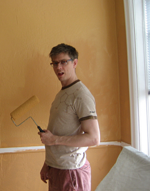 interior painting with proper ventilation before winter is the perfect home improvement project for fall