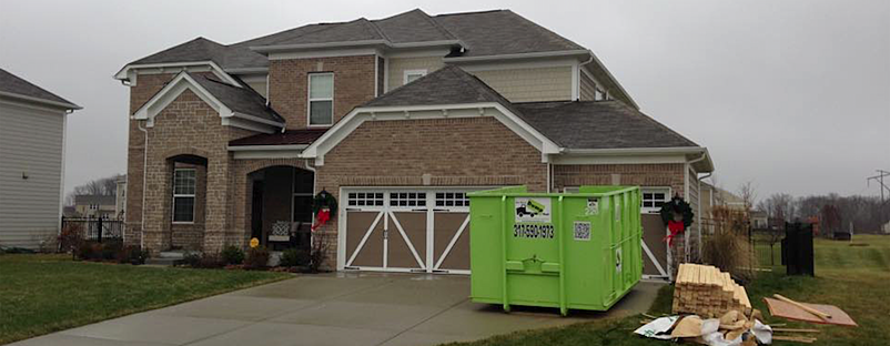 Bin There Dump That dumpster rental in Indianapolis.