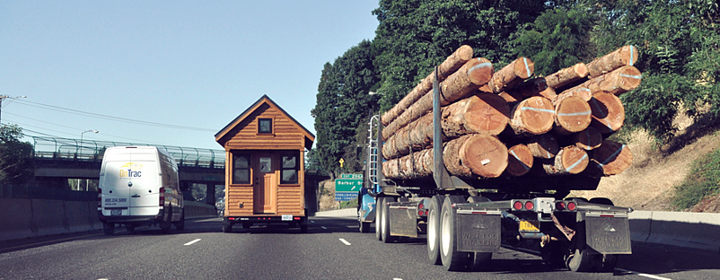 Aside from tiny houses, storage is big this year, especially innovative storage.