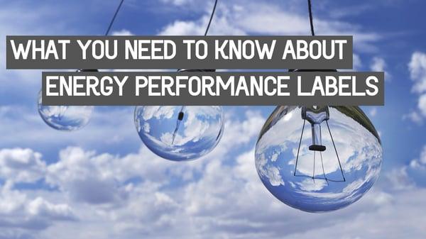 close up light bulb energy performance labels