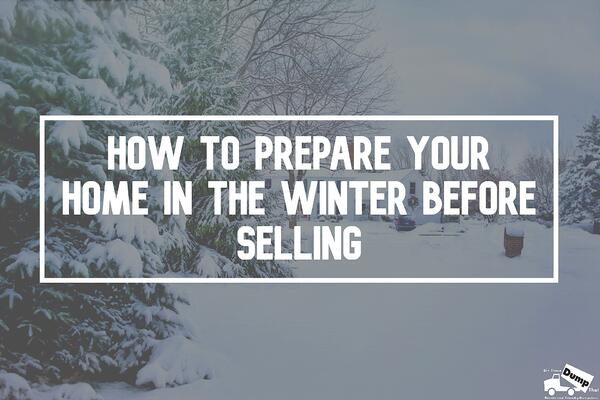 how to prepare your home in the winter before selling