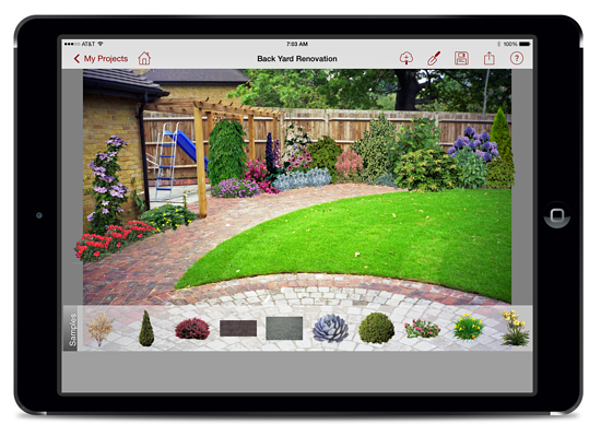 Pro Landscape Home has highest Apple App Store rating of all of the landscaping apps